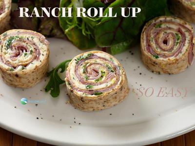 Easy Ranch Tortilla Roll-Ups