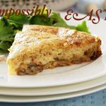 Impossible Mushroom Pie