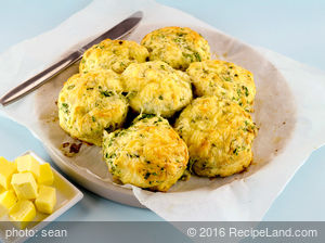 Cheese Garlic-Herb Biscuits
