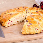 Mom's Cranberry Orange Scones