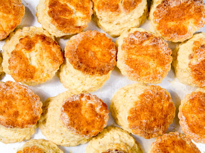 Mary Rogers's Sourdough Biscuits