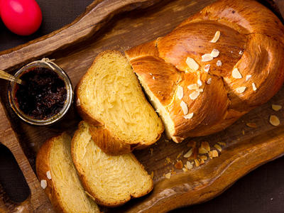 Classic Brioche Loaf