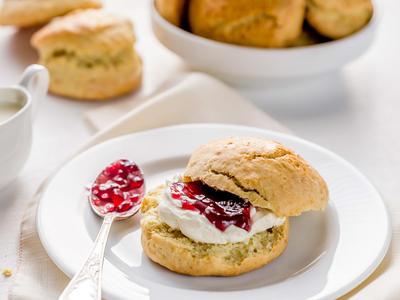 Buttermilk-Cornmeal Biscuits