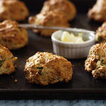 Bacon and Cheddar Drop Biscuits