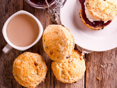 Buttermilk Whole Wheat Scottish Scones