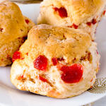 Whole Wheat Cinnamon Fruit Scones