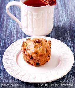 Granny Smith Buckwheat Muffins