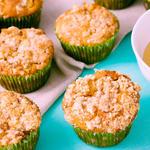 Apple Streusel Sour Cream Muffins