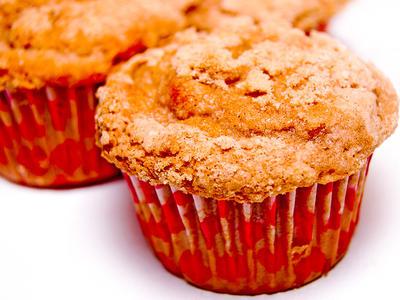 Apple Pecan Streusel Muffins