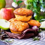 Quick Applesauce Muffins