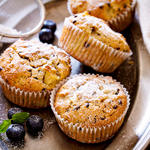 Grape Snack Muffins