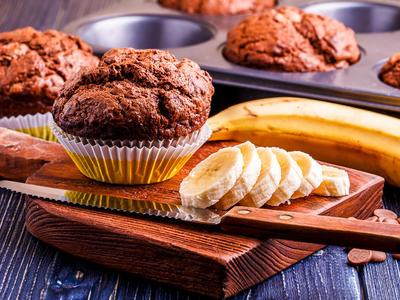 Gluten Free Casein Free Chocolate Avocado Muffins