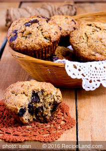 Berry Orange Banana Muffins