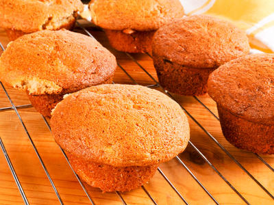 Breakfast Whole Wheat Banana Muffins