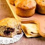 Breakfast Cherry Oatmeal Muffins