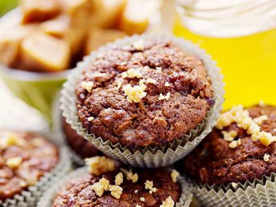 Fruit and Fiber Overload Muffins