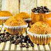 Orange Sourdough Muffins
