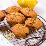 Almost Whole Wheat Lemon Poppyseed Muffins
