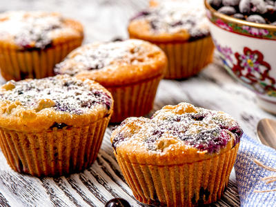 Scrumpdilly Berry Muffins