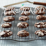 Cracked Chocolate Cookies