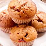 Breakfast Strawberry Oatmeal Muffins