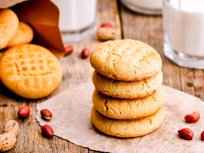 Nutritious Peanut Butter Cookies