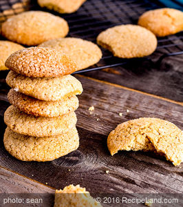 Orange and Ginger Cookies