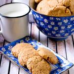 Peanut Butter Bulgur Cookies