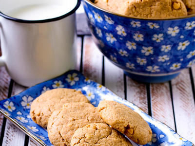 Peanut Butter Bulgur Cookies
