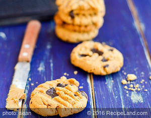 Peanut Butter Baby Ruth Cookies