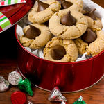 Thumbprint Kiss Cookies