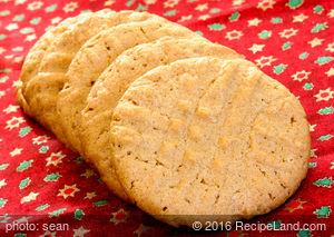 Yummy Gluten Free Peanut Butter Cookies