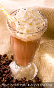Brazilian Iced Chocolate - with Coke