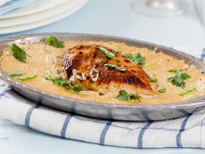 Roasted Chicken 'n Rice Casserole