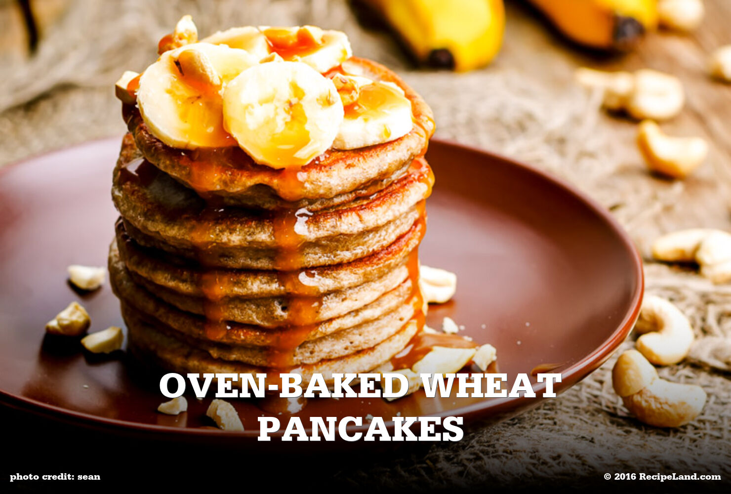 Oven-Baked Wheat Pancakes