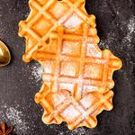 Autumn Pumpkin Waffles