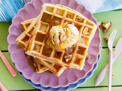 Heavenly Belgian Waffles