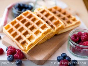 Breakfast Multi-Grain Waffles