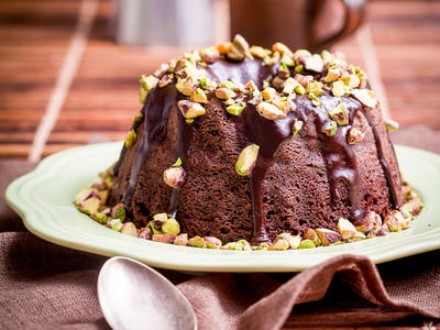 Chocolate Amaretto Bundt Cake