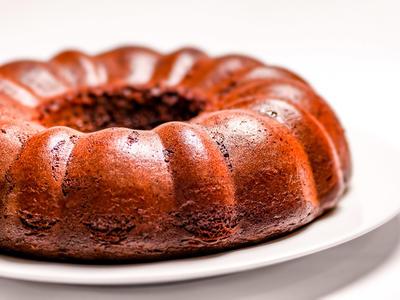 Banana-Chocolate Bundt Cake