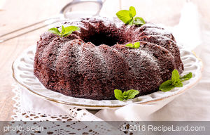 Easy Moist Chocolate Bundt Cake