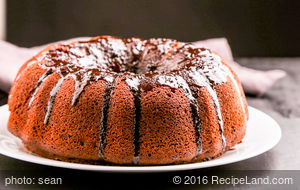 Chocolate-Fudge Bundt Cake