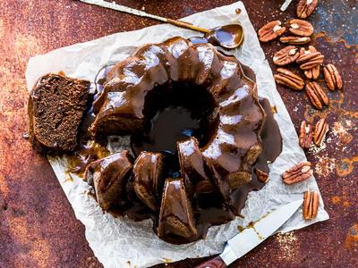 Cocoa Mocha Bundt Cake
