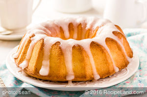 Very Orange Bundt Cake