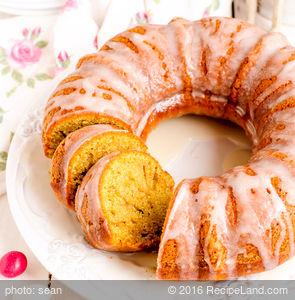 Libby's Pumpkin Pound Cake