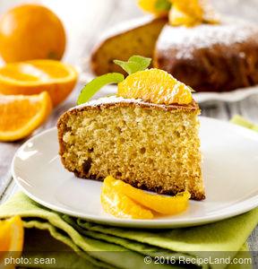 Lemon/Orange Cake Dessert