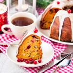 Cranberry-Pecan Holiday Pound Cake