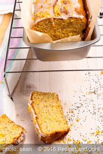 Cowgirl's Lemon Poppy Seed Pound Cake