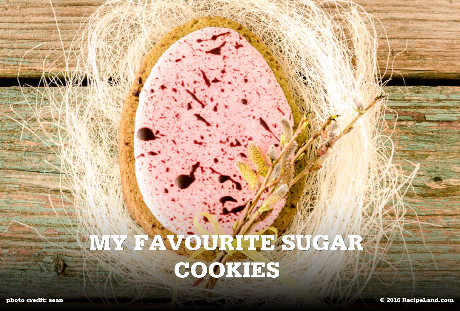 My Favourite Sugar Cookies