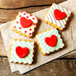Love Heart Sugar Cookies